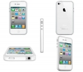 Apple bumper White белый для IPhone 4,4s
