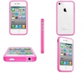 Apple bumper pink for IPhone 4,4s.
