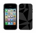 GeoSkin Черный чехол Для iphone  4 4s Speck