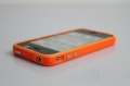IPhone 4,4s Apple bumper orange оранжевый