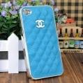 IPhone 4,4s чехол Шанель Голубой с Серебром
