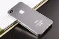 IPhone 4,4s чехол Ультратонкий 0.3мм мягкий пластик Прозрачный