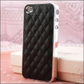 IPhone 4,4s чехол luxury чехол Черный с серебром