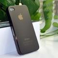 IPhone 4,4s чехол Ультратонкий 0.3мм мягкий пластик Черный