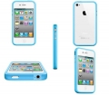 IPhone 4 4s apple bumper Blue