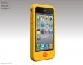 IPhone 4 case switcheasy Mican Желтый чехол