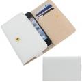 IPhone 5 4 3 чехол визитница ОМО Белый