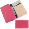 IPhone 5 4g 4s 3g 3gs чехол визитница ОМО Ярко розовый