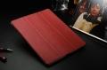 Ipad 2 3 4 New ipad кожаный чехол смарт ковер  Красный