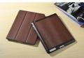 Ipad 2 3 4 New ipad кожаный чехол смарт ковер brown