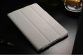 Ipad 2 3 4  чехол ультратонкий кожаный белый