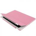 Ipad 5 чехол  светло розовый  smart cover с крышкой пластиковой