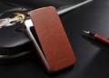 Iphone 4 4 s тонкий кожаный флип fashion Коричневый