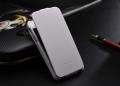 Iphone 4 4 s тонкий кожаный флип fashion Белый