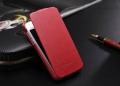 Iphone 4 4 s тонкий кожаный флип fashion Красный