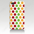 Iphone 4 4s чехол  тонкий пластиковый эксклюзив Яблоки