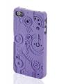 Iphone 4 4s чехол накладка switcheasy Clockwork Фиолетовый