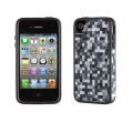 Iphone 4 4s  чехол  PixelParty Black/White