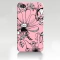 Iphone 4 4s чехол Розовый цветок ексклюзив