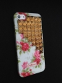 Iphone 4 4s чехол Pyramid style  Cath kidston  + bronze
