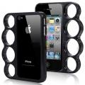 Iphone 4 4s чехол кастет Черный Knuckle