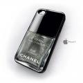 Iphone 4 4s чехол Лак Chanel 529 Graphite