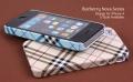 Iphone 4 4s чехол burberry Белый