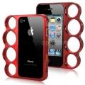 Iphone 4 4s чехол кастет knuckle Красный