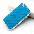 Iphone 4 4s чехол luxury Голубой