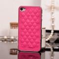 Iphone 4 4s чехол luxury Ярко-розовый