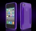 Iphone 4 4s чехол силиконовый More para collection Фиолетовый