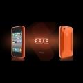 Iphone 4 4s чехол силиконовый More para collection Оранежевый