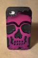 Iphone 4 4s case Skull Head Фиолетовый