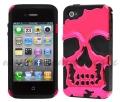 Iphone 4 4s case Skull Head Ярко розовый