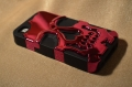 Iphone 4 4s case Skull Head  Красный