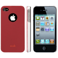 Iphone 4  4s накладка чехол Moshi Iglaze Красный