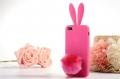 Iphone 5 чехол rabitto заец кролик ярко розовый