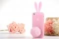 Iphone 5 чехол rabitto заец кролик Светло-розовый