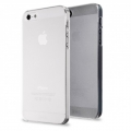 Iphone 5 ультратонкий чехол 0.5 мм Прозрачный