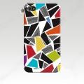 Iphone 5  тонкий пластиковый эксклюзив Узор фигур