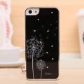 Iphone 5  чехол одуванчик Черный