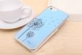 Iphone 5  чехол одуванчик Голубой