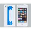 Iphone 5 чехол силиконовы кассета ретро Белая