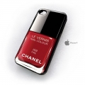 Iphone 5 чехол лак Chanel  159 fire red
