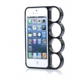 Iphone 5 чехол Knuckle  кастет Черный