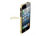 Iphone 5 ultra thin 0.7 mm золото Metal bumper Gold