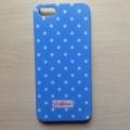 Iphone  5 case Cath Kingston Синий в горошек