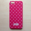 Iphone  5 case Cath Kingston Красный в горошек