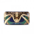 Justcavalli Clutch Blue Сумочка Синий для IPhone 4/4s