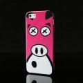 Justcavalli Puro Crazy Zoo Pink Pig Розовая Свинка для IPhone 5/